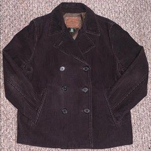 Ralph Lauren double Breasted Corduroy jacket
